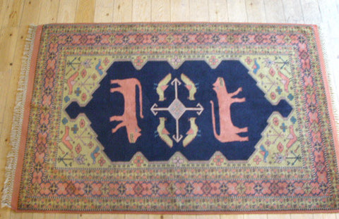 Quchan Rug 195x130 O501 - Persian Tribal Rugs - 1