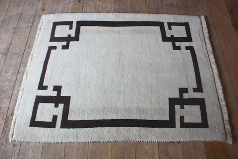 Gabbeh Rug 132x105 Z2462 - Persian Tribal Rugs