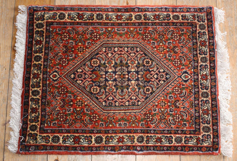 Bijar Rug 64x50 Z2123 - Persian Tribal Rugs
