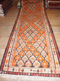 Persian Kilim 410x118 D16 - Persian Tribal Rugs - 1