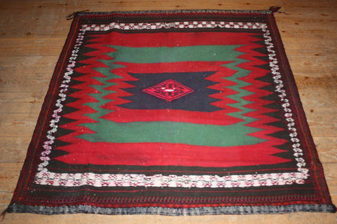 Persian Kilim 135x130 Z2513 - Persian Tribal Rugs - 1