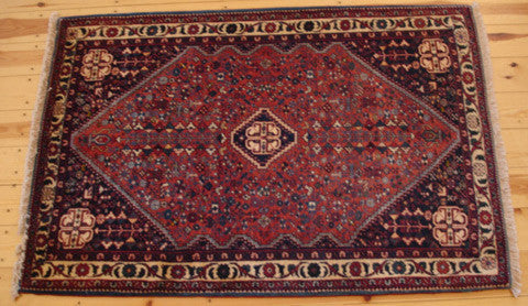 Abadeh Rug 153x103 X115 - Persian Tribal Rugs