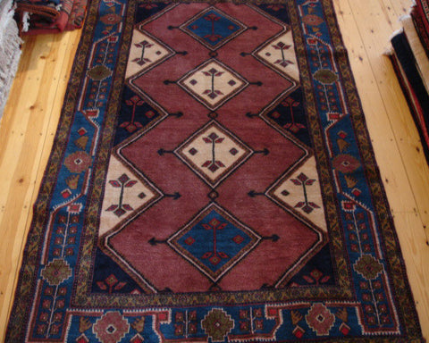 Koliai Rug 240x150 X4877 - Persian Tribal Rugs - 1