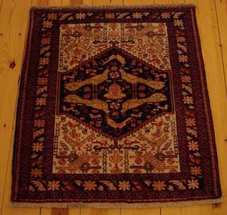 Balouch Rug 85x73 X5512 - Persian Tribal Rugs