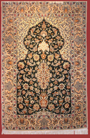 Isfahan Rug 160x106 H403 - Persian Tribal Rugs