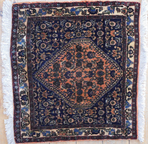 Bijar Rug 70x65 Z4587 - Persian Tribal Rugs - 1
