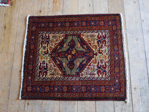 Balouch Rug 80x70 Z2890 - Persian Tribal Rugs