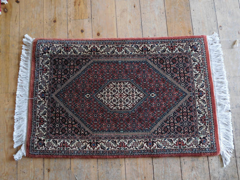 Bijar Rug 90x60 Z4577 - Persian Tribal Rugs