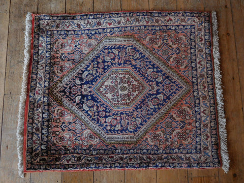 Bijar Rug 88x75 Z2873 - Persian Tribal Rugs