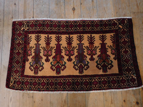 Balouch Rug 105x57 Z429 - Persian Tribal Rugs