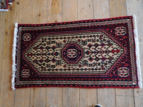 Abadeh Rug 100x60 Z4276 - Persian Tribal Rugs