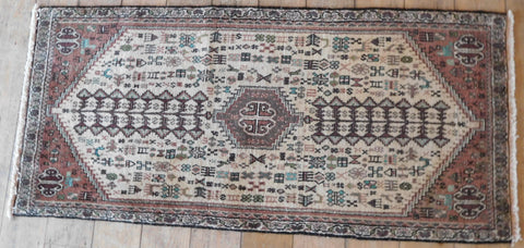 Abadeh Rug 140x65 Z4981 - Persian Tribal Rugs