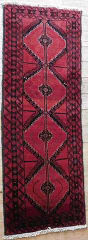 Balouch Rug 185x68 Z4972 - Persian Tribal Rugs