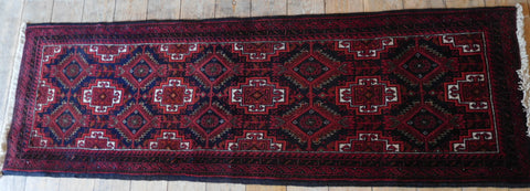 Balouch Rug 190x62 Z4978 - Persian Tribal Rugs