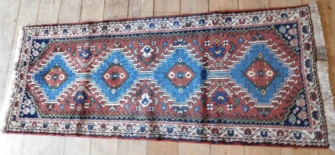 Yalameh Rug 150x60 Z4983 - Persian Tribal Rugs