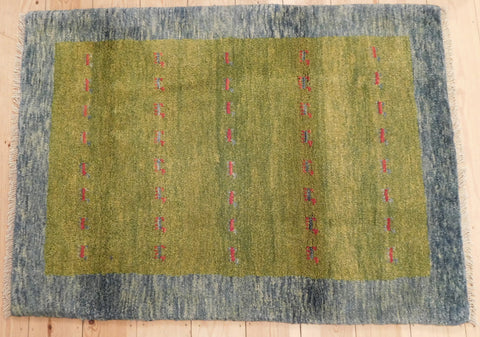 Gabbeh Rug 120x87 Z4940 - Persian Tribal Rugs