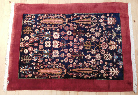 Gabbeh Rug 140x104 AA1 - Persian Tribal Rugs