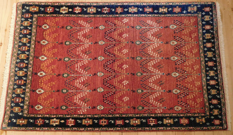 Gabbeh Rug 166x105 Z4258 - Persian Tribal Rugs