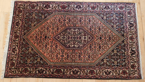 Bijar Rug 145x90 Z2990 - Persian Tribal Rugs