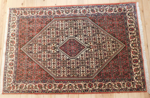 Bijar Rug 168x114 Z2987 - Persian Tribal Rugs