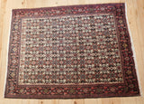 Senneh Rug 152x117 Z4636 - Persian Tribal Rugs