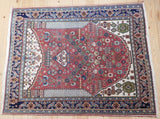 Kashkuli Rug 140x115 Z1643 - Persian Tribal Rugs - 2