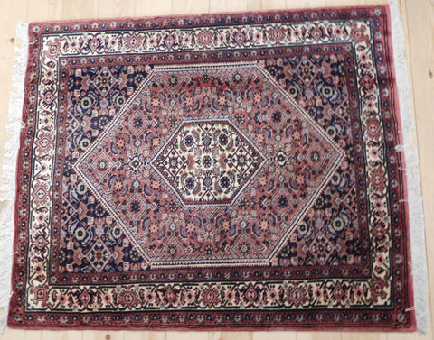 Bijar Rug 132x110 AA16 - Persian Tribal Rugs