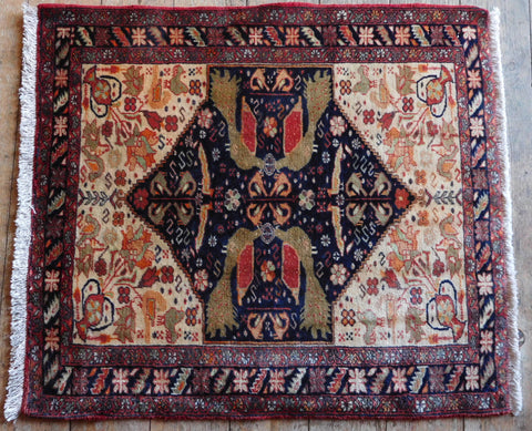 Balouch Rug 86x76 Z5364 - Persian Tribal Rugs