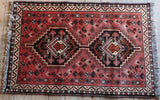 Shiraz Rug 122x79 Z5367 - Persian Tribal Rugs