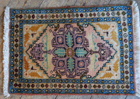 Hamedan Rug 60x41 Z5356 - Persian Tribal Rugs