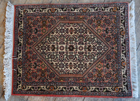 Bijar Rug 65x52 Z5350 - Persian Tribal Rugs