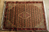 Bijar Rug 142x105 Z5330 - Persian Tribal Rugs
