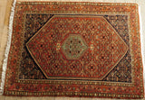 Bijar Rug 157x118 Z5326 - Persian Tribal Rugs
