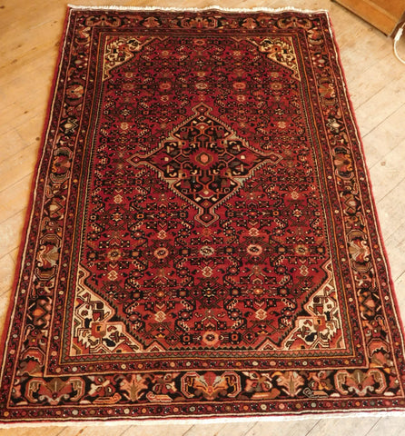 Hossein Abad Rug 211x154 Z5390 - Persian Tribal Rugs