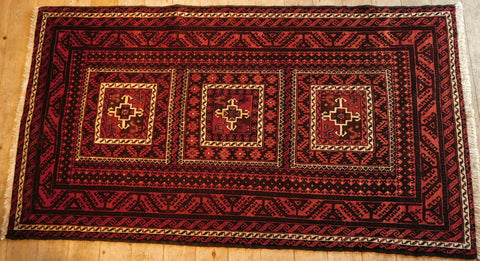 Balouch Rug 200x143 Z5313 - Persian Tribal Rugs