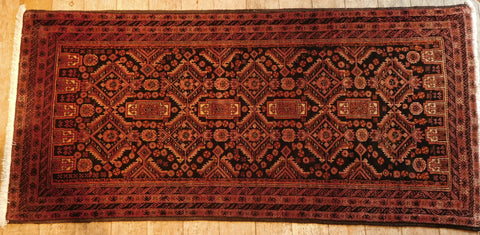 Balouch Rug 185x90 Z5315 - Persian Tribal Rugs