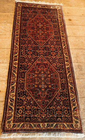 Bijar Rug 117x50 Z5259 - Persian Tribal Rugs