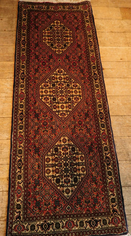 Bijar Runner 164x60 Z5262 - Persian Tribal Rugs