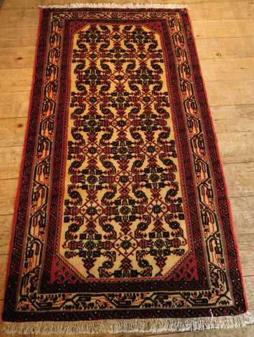 Enjelas Rug 145x79 Z5270 - Persian Tribal Rugs