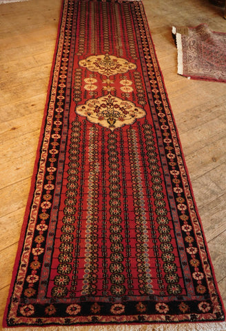 Hamedan Runner 275x77 Z5243 - Persian Tribal Rugs