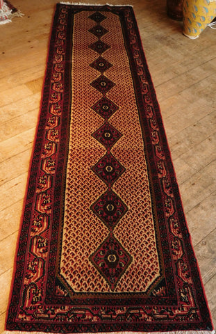 Enjelas Runner 281x80 Z5239 - Persian Tribal Rugs