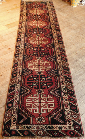 Balouch Runner 291x77 Z5234 - Persian Tribal Rugs