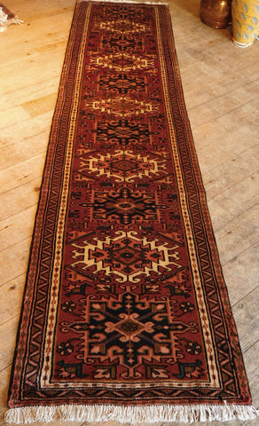 Karajeh Runner 297x75 Z5235 - Persian Tribal Rugs