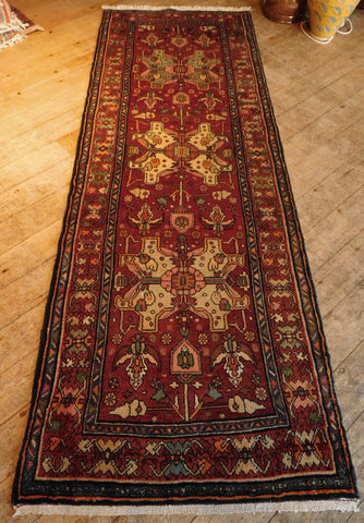 Zanjan Rug 275x95 Z5228 - Persian Tribal Rugs