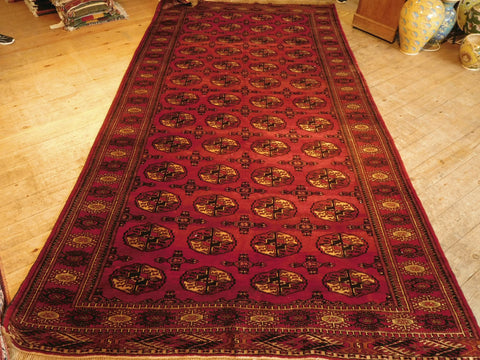 Turkman Rug 340x178 Z5289 - Persian Tribal Rugs