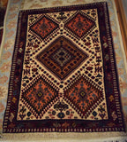 Yalameh Rug 115x80 Z2877 - Persian Tribal Rugs