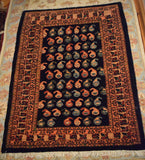 Bijar Rug 113x82 Z4120 - Persian Tribal Rugs
