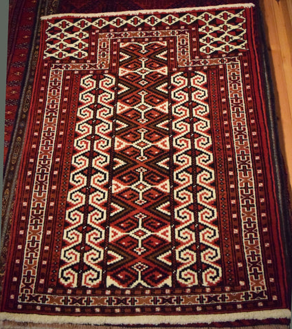 Balouch Rug 115x85 V2310 - Persian Tribal Rugs