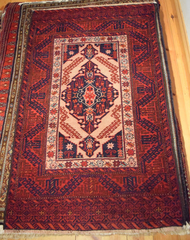 Balouch Rug 137x80 Z1646 - Persian Tribal Rugs