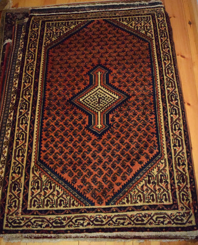 Mahal Rug 150x100 Z4127 - Persian Tribal Rugs
